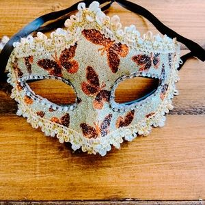 Butterfly Gold Halloween Costume Masquerade